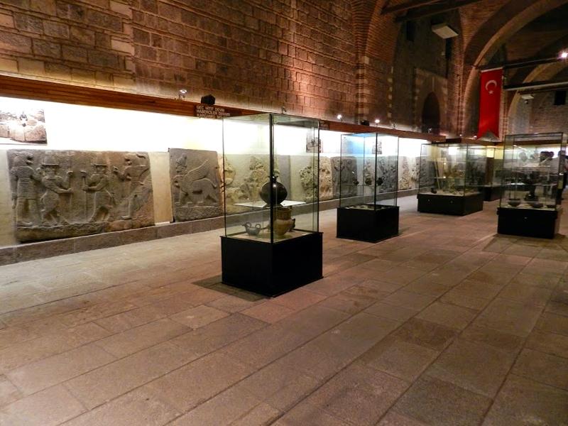 Museu das Antigas Civilizações da Anatólia em Ancara na Turquia