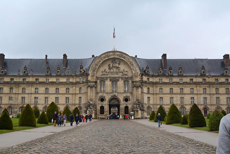 Esplanade des Invalides em Paris