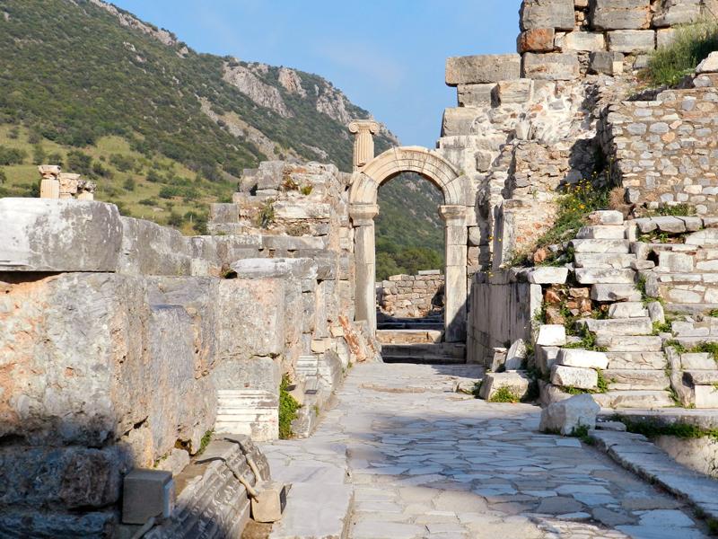 Sítio Arqueológico de Ephesus na Turquia
