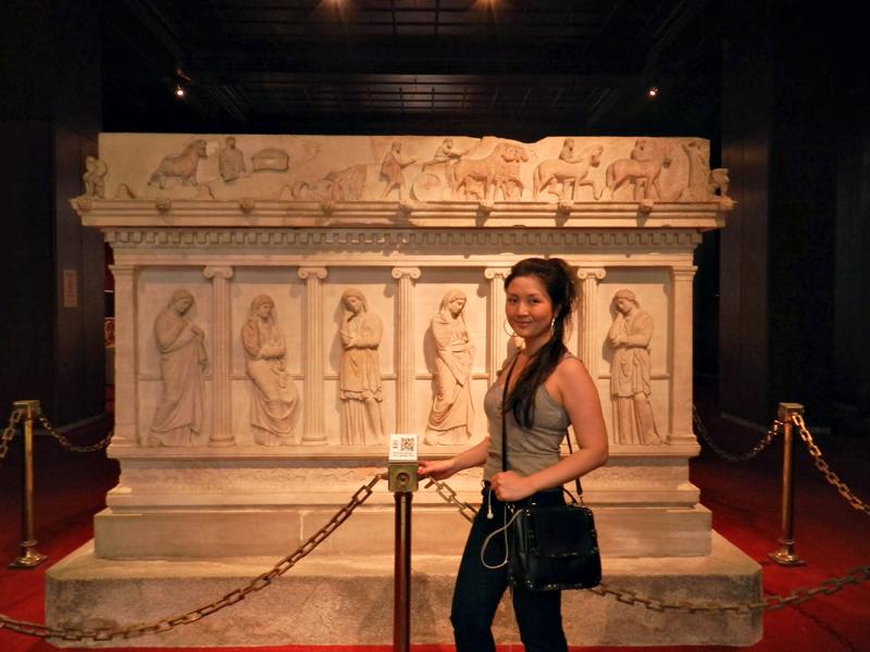Sarcófagos do Istanbul Arkeoloji Müzeleri - Anasayfa
