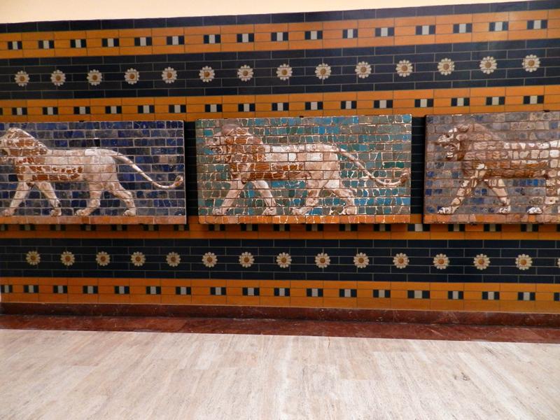paredes da babilônia no Istanbul Arkeoloji Müzeleri - Anasayfa