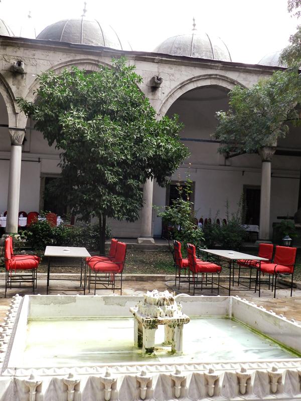 Dârüzzifaye uma cafeteria de Istambul