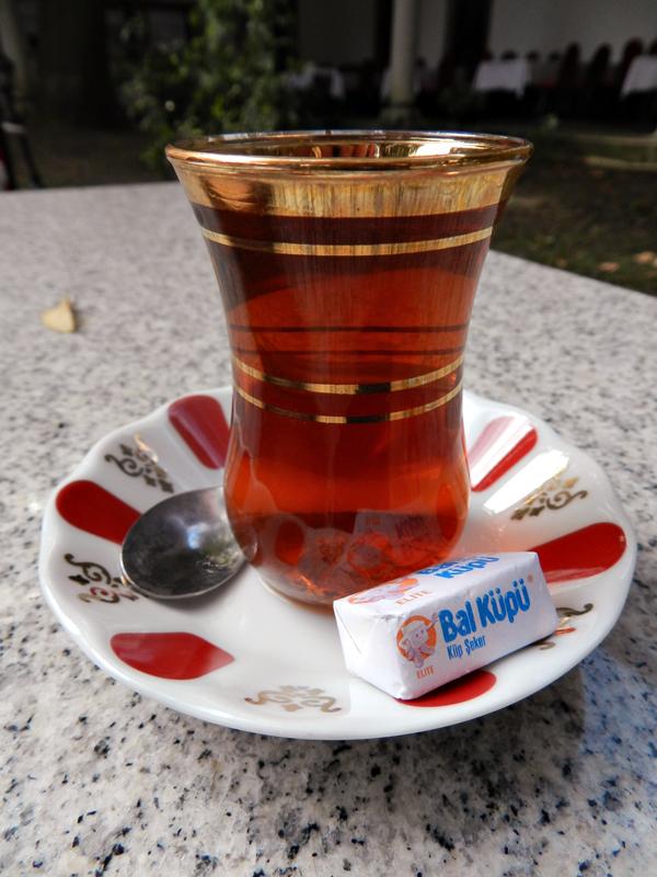 o chay da Dârüzzifaye uma cafeteria de Istambul