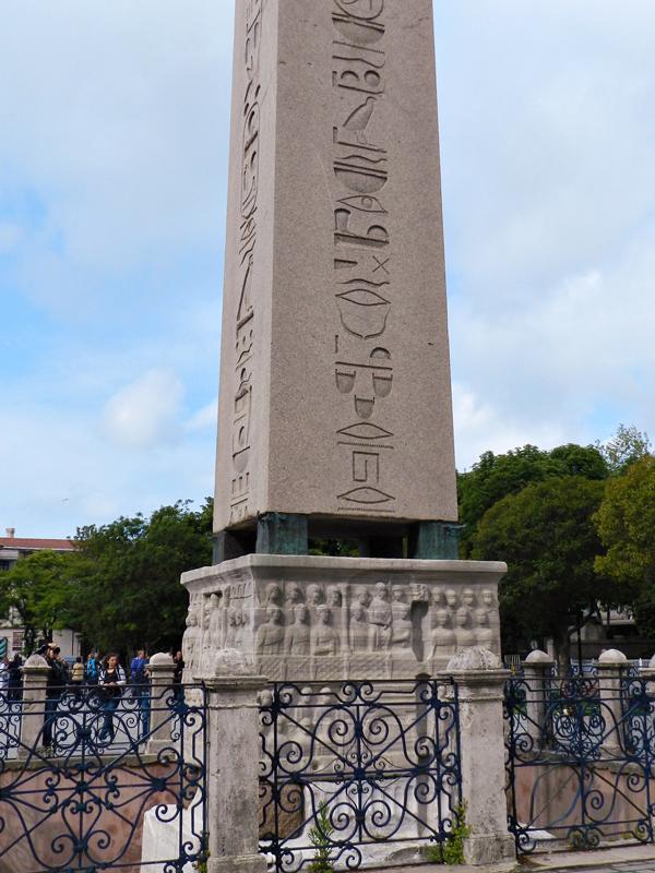 Sultan Ahmet Parkı e o Hipódromo Istambul lado histórico