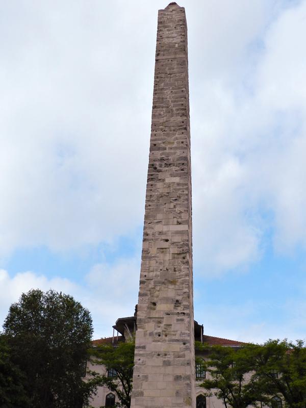 Sultan Ahmet Parkı e o Hipódromo de Istambul