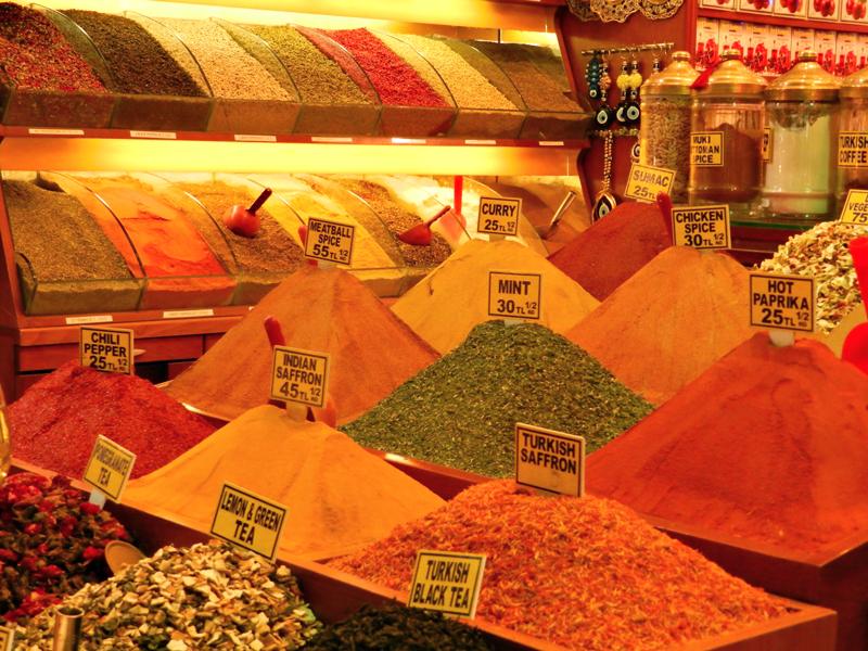 Mιsιr Çarşιsι ou Bazar Egípcio ou Bazar de Especiarias em Istambul