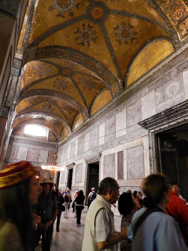 Entrada da Hagia Sophia Museum ou Santa Sofia em istambul