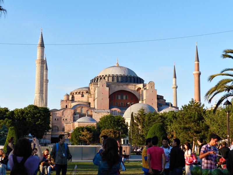Hagia Sophia Museum ou Santa Sofia em istambul