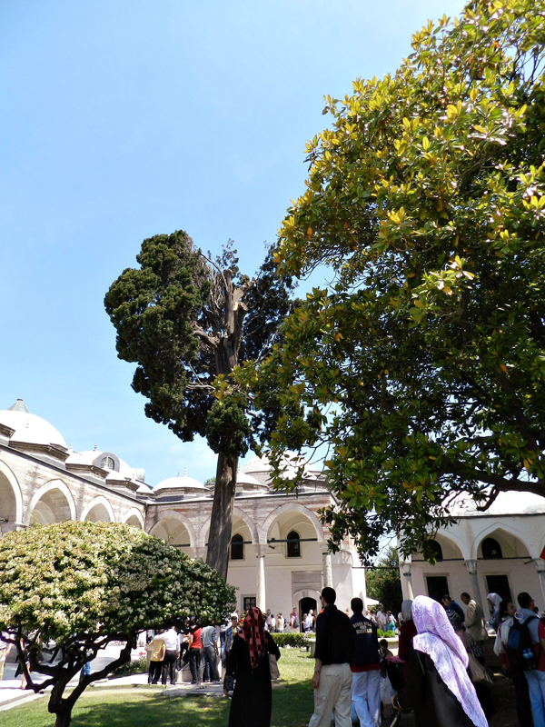 Topkaι Sarayι ou Castelo de Topkaι em Istambul