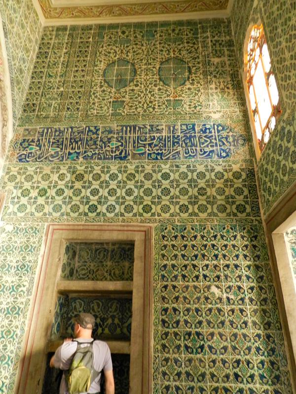 harem do Topkaι Sarayι ou Castelo de Topkaι em Istambul