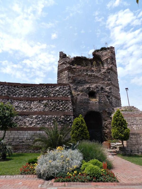 Muralhas de Constantinopla em Istambul