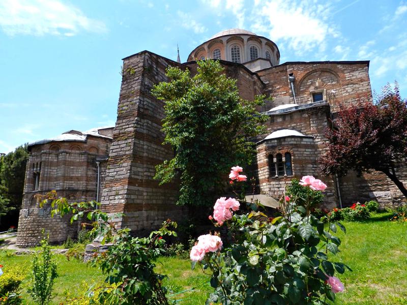 Kariye Müzesi ou Igreja de São Salvador in Chora em Istambul