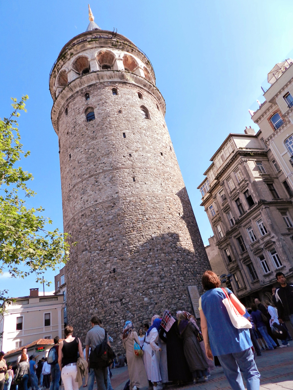 Galata Kulesi a Torre Galata de Istambul