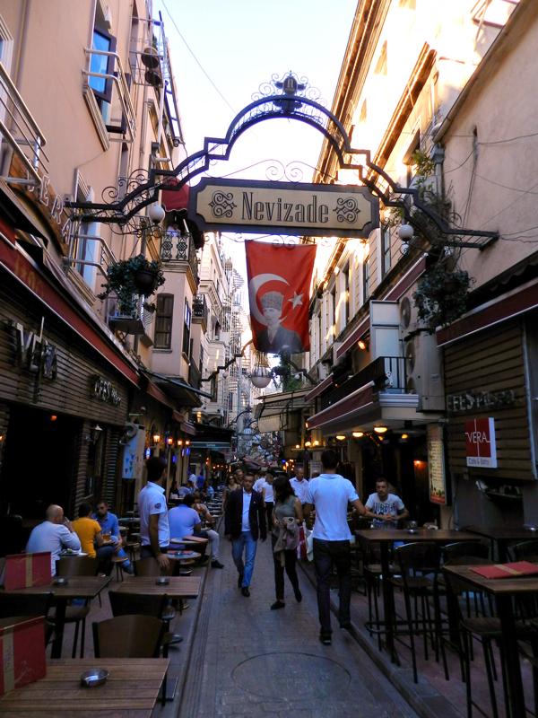 Nevizade Sokak em Istambul