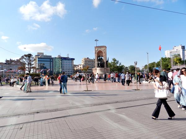 Praça Taksim de Istambul