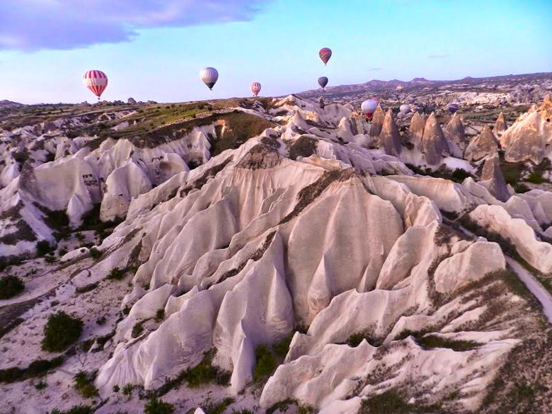 Passeio de balão na Capadócia na Turquia