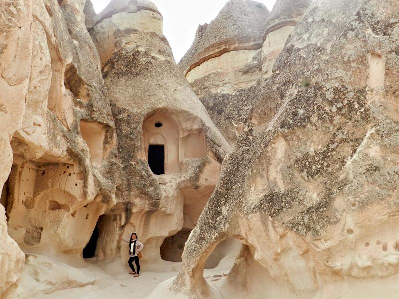 formações rochosas da Capadócia na Turquia