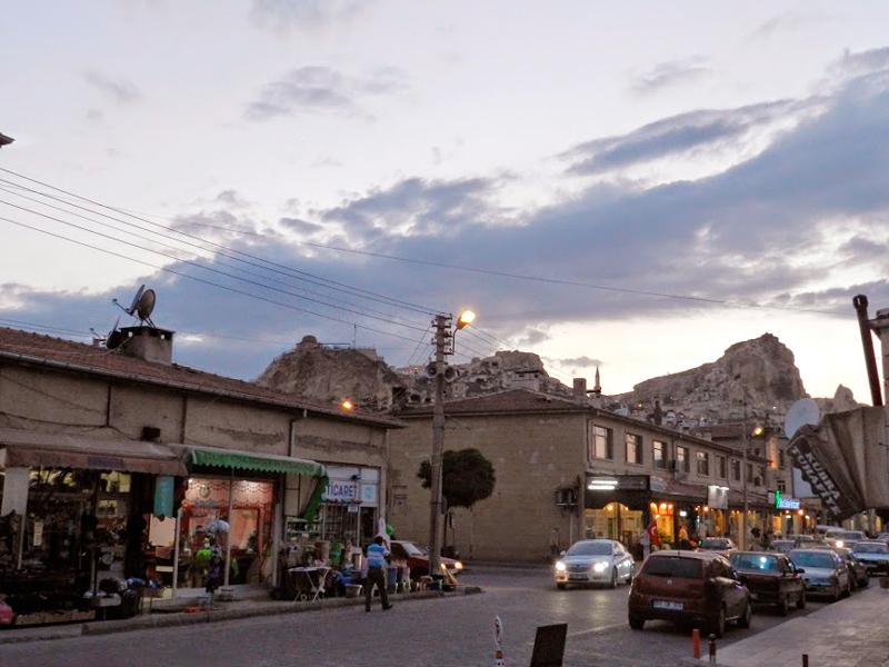 cidade de Ürgup na Capadocia