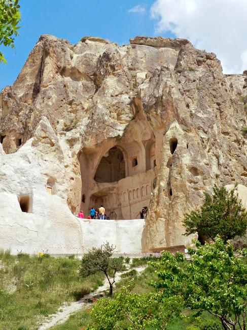 Museu a Céu Aberto de Göreme na Capadócia em Turquia