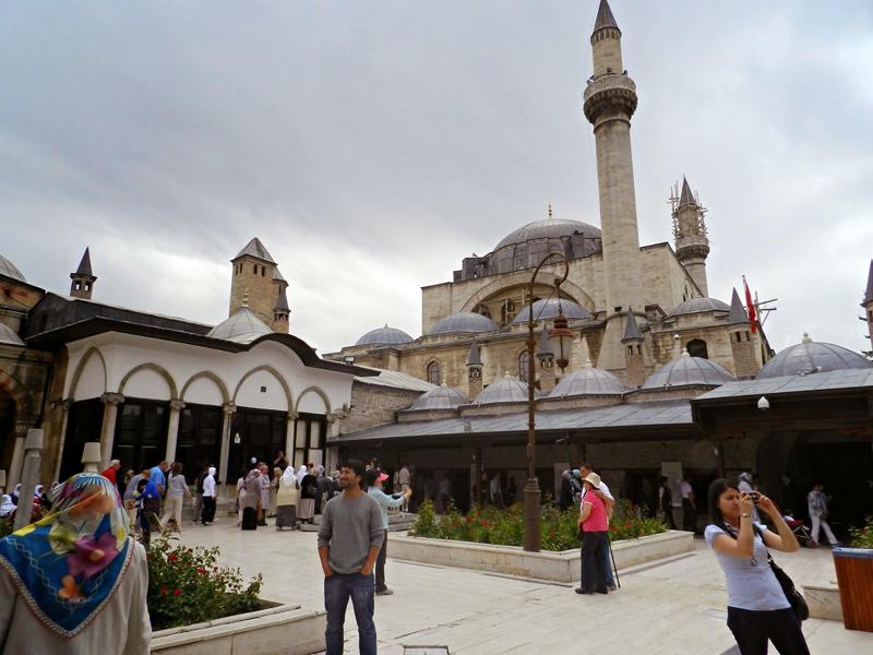 Museu Mevlana em Konya na Turquia