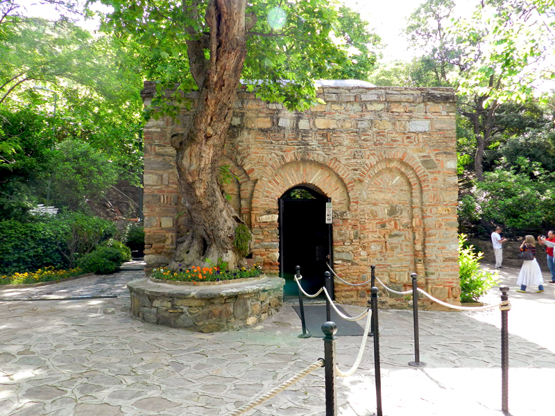 Meryemana Kultur Parkι ou Casa da Virgem Maria na Turquia