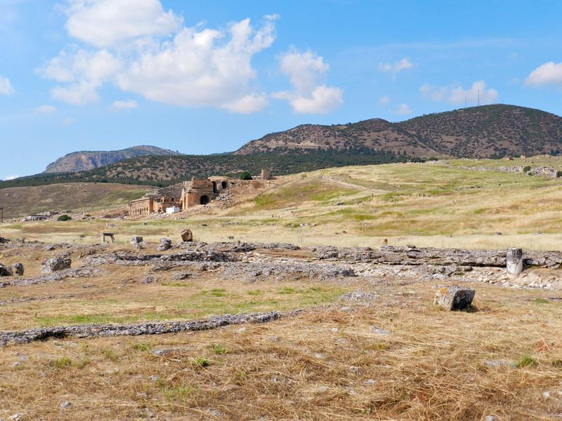 Hierapolis  PAMUKKALE na Turquia