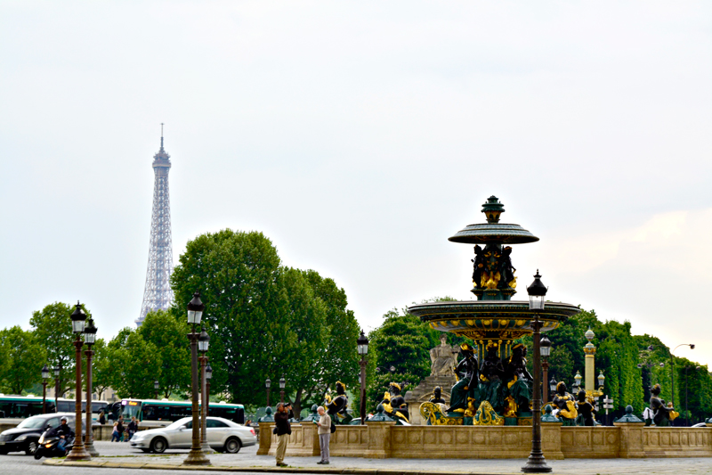 Place de la Concordia, Champs Elysee, Paris, France