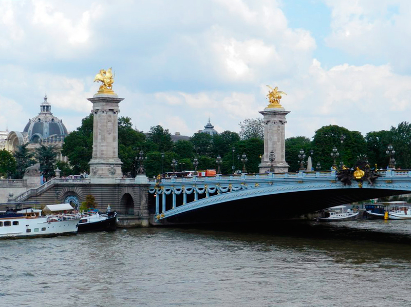 pont alexander III TOUR EIFFEL