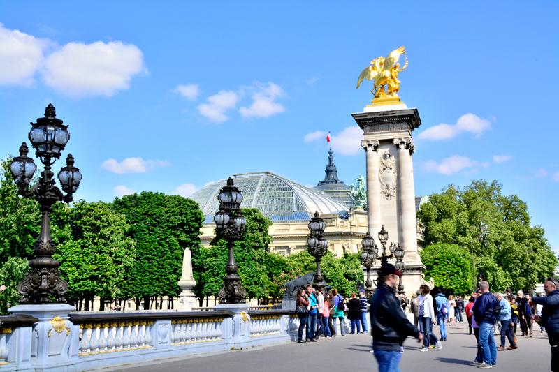 pont alexander III em Paris na França
