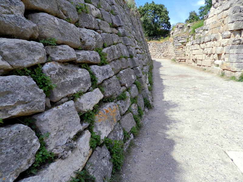 Troya Tarihi Milli Parkι ou Tróia na Turquia