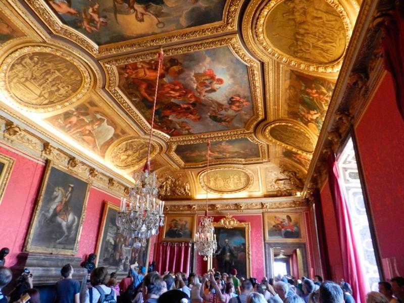 Chateau de Versailles na França