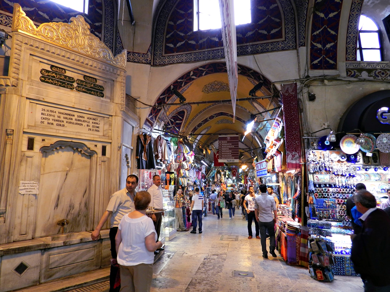 Grand Bazar em Istambul