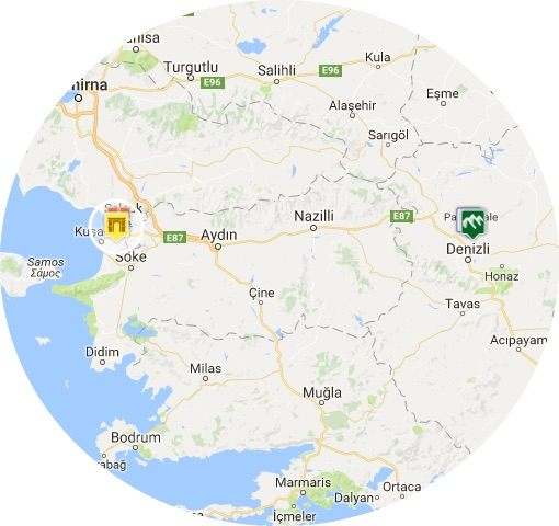 mapa efeso