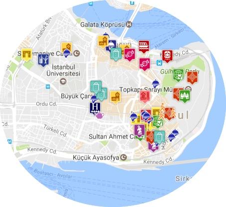 mapa istanbul I