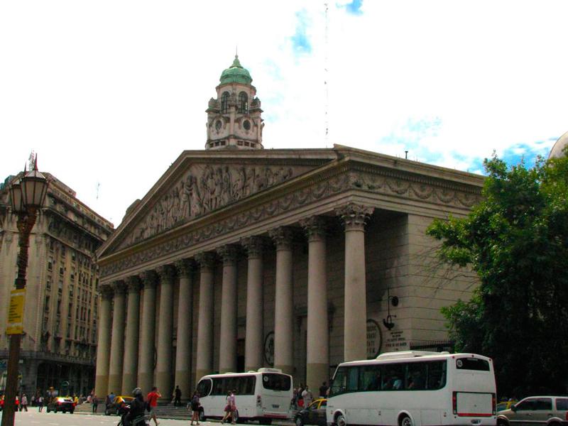 Catedral Metropolitana de buenos aires na argentina