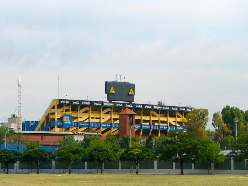 La Bombonera em buenos aires na argentina