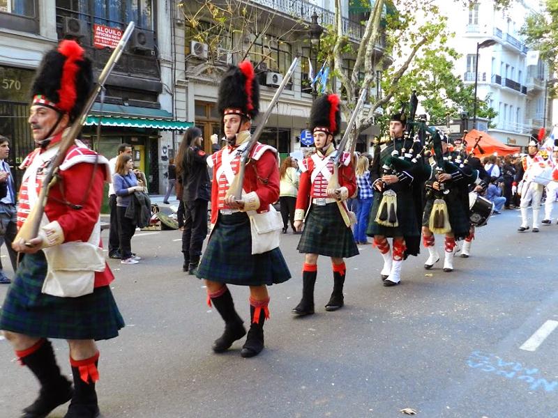 comemoração da comunidade bretanha em buenos aires na argentina