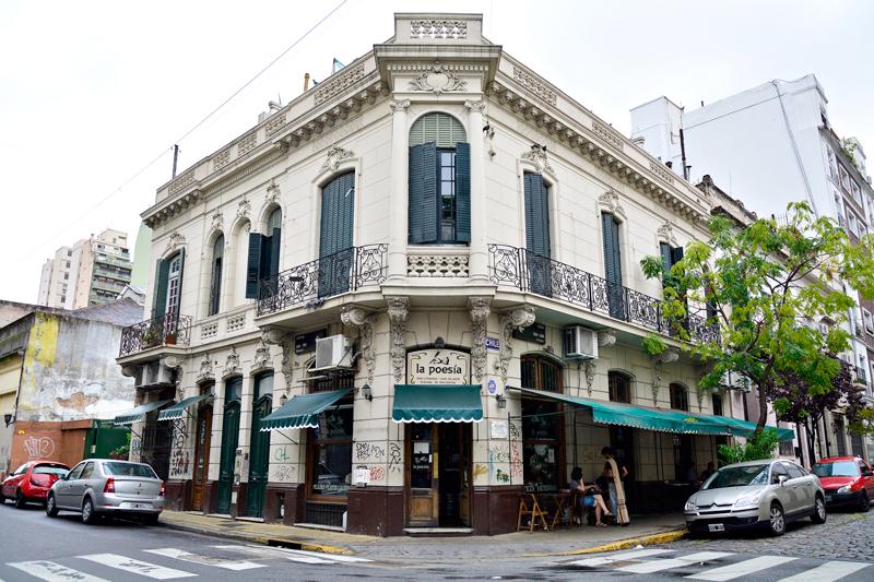 Café la Poesía, Buenos Aires, Argentina