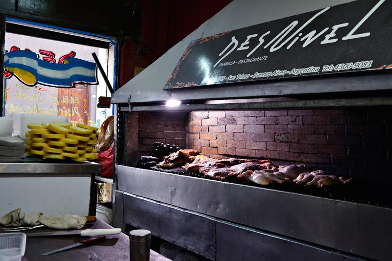 Restaurante Desnivel, San Telmo, Buenos Aires, Argentina
