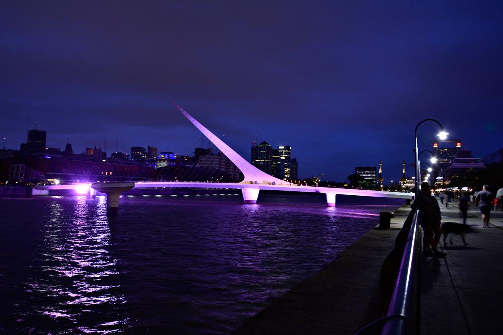 Puerto Madero, Puente de la Mujer, Buenos Aires, Argentina
