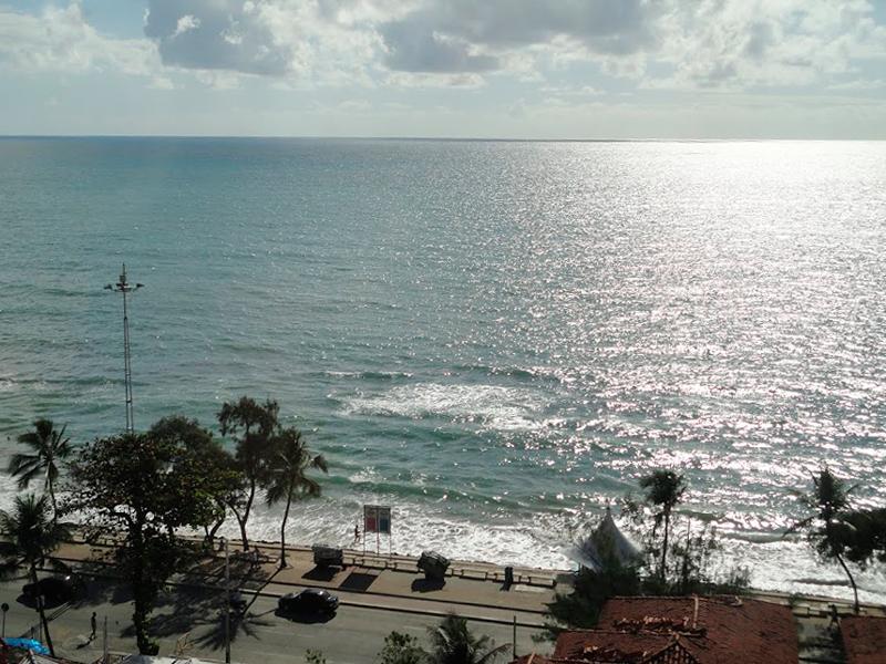 Praia em Recife no Pernambuco