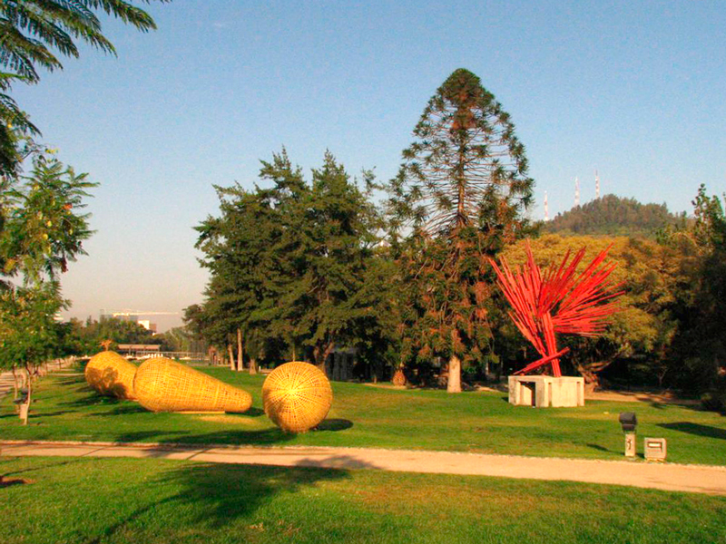 Parque de las Esculturas em Santiago de Chile