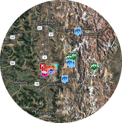 mapa santiago