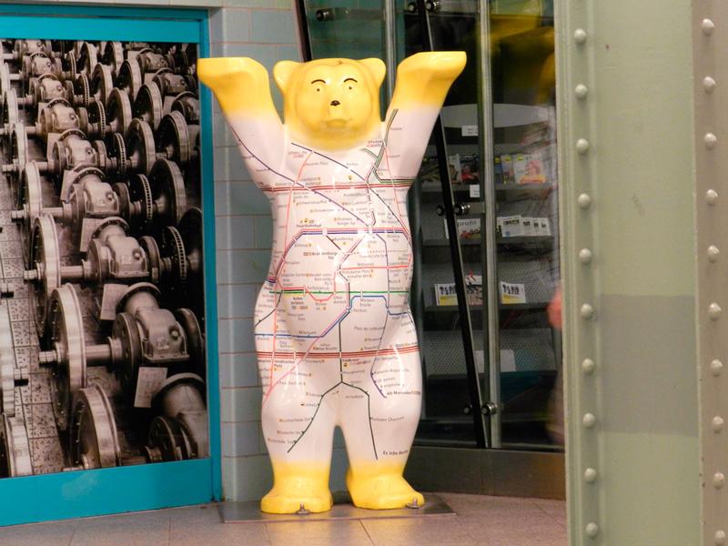 Buddy Bären (Urso Camarada) em Berlim