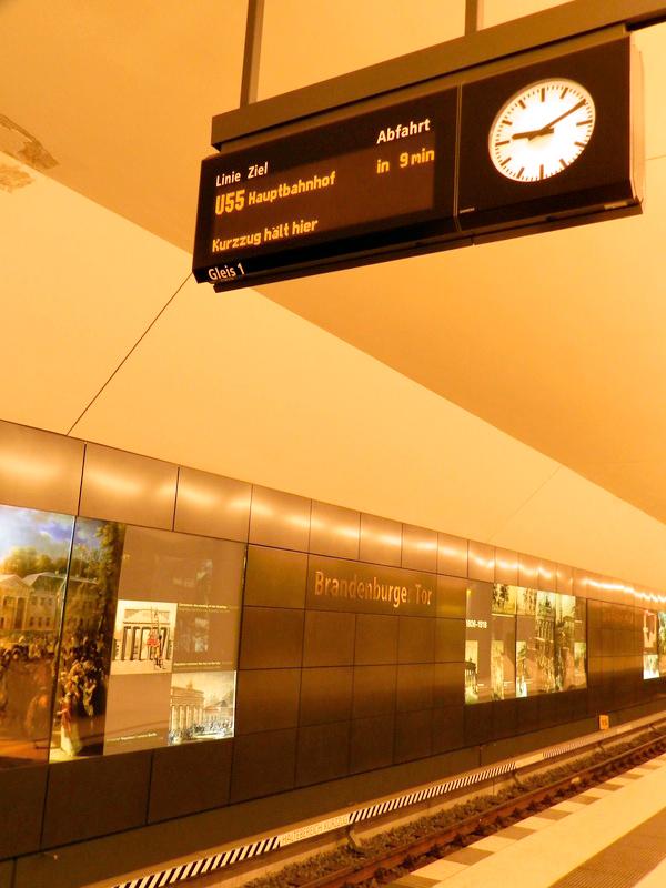 Estação de metrô em Berlim