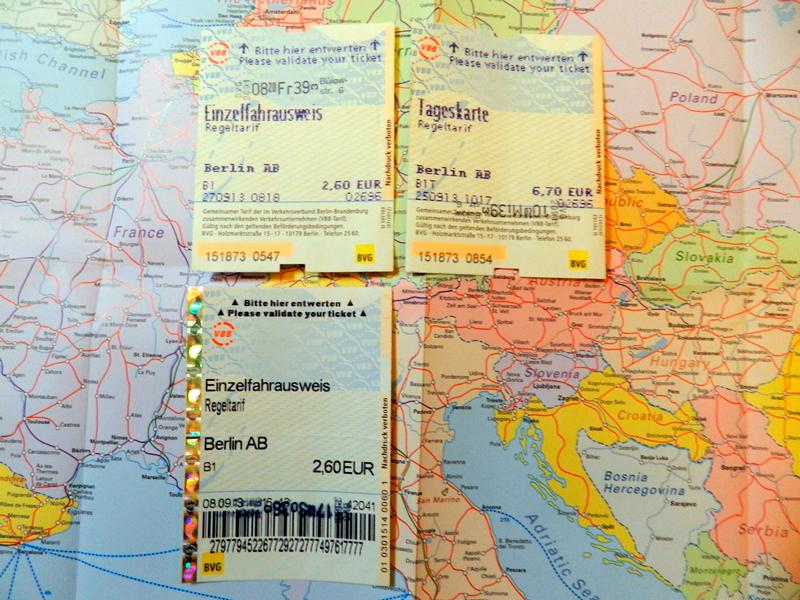 tickets de metro em berlim