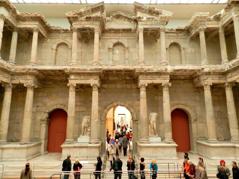 Portas do Mercado de Mileto no Pergamonmuseum de Berlim