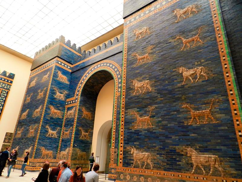 Portões da Babilônia no Pergamonmuseum de Berlim