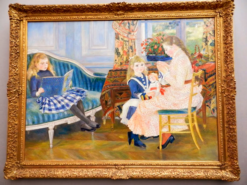 Renoir no Alte Nationalgalerie em Berlim