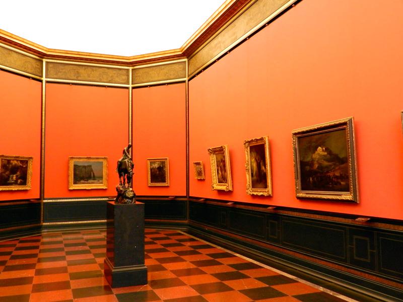 arte alemã na Alte Nationalgalerie em Berlim